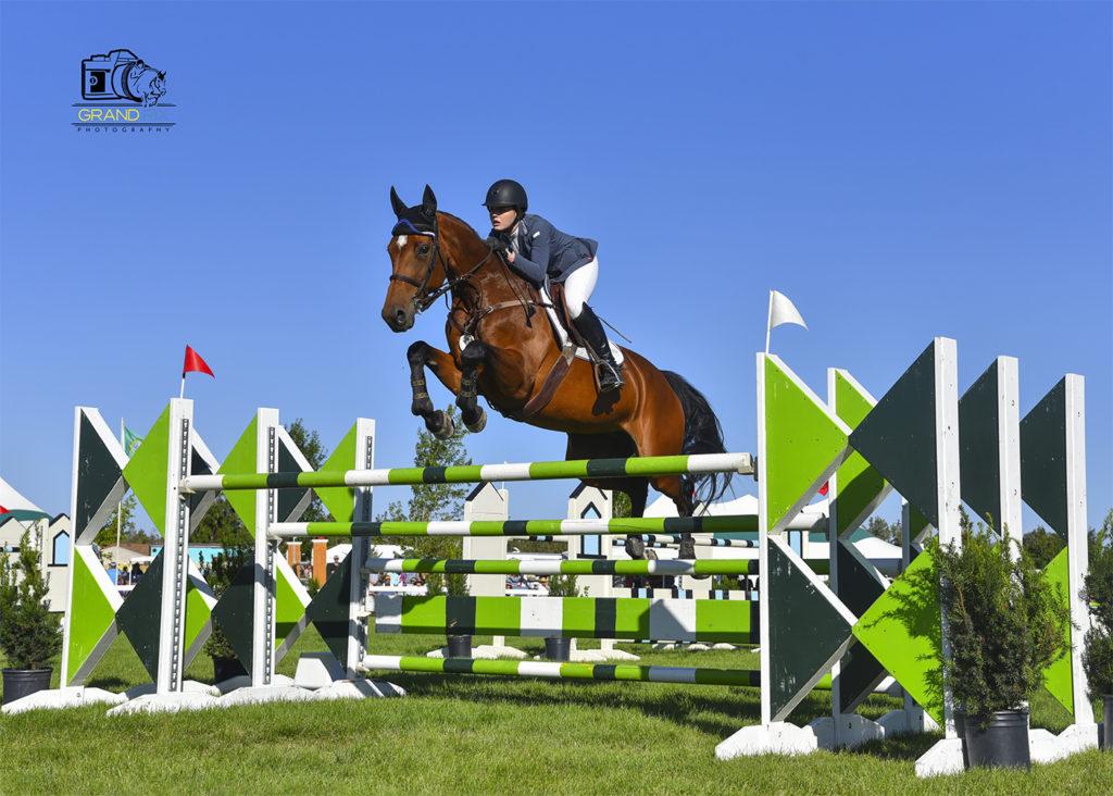 Grand Prix winner Alexa Webber horse show Bend Oregon